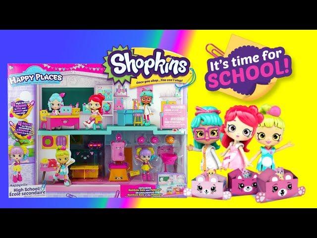 Shopkins Happy Places • Szkoła i nowe mebeli • bajka po polsku