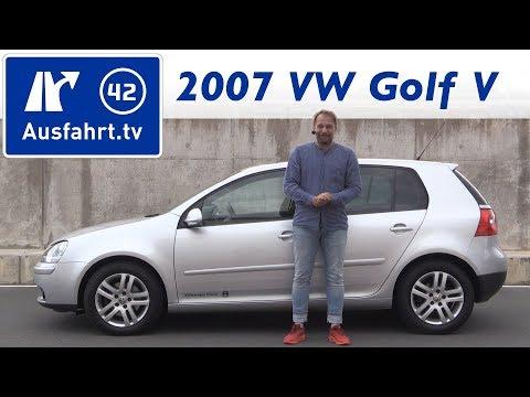 2007 Volkswagen VW Golf V 1.4 Liter TSI - Kaufberatung. Test. Review. Historie