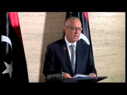 6153WD LIBYA-OIL PM ALI ZEIDAN