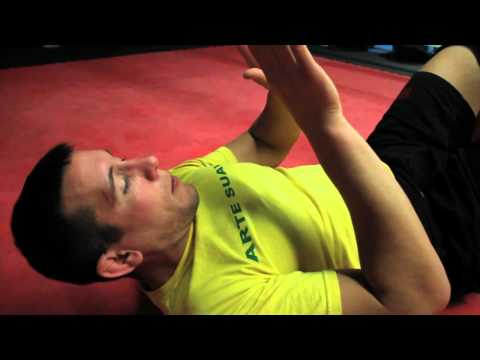 MMA Brazilian Jiu-Jitsu Shrimp Crawl Basics w/ Head MMA Trainer Jake Fox Image 1