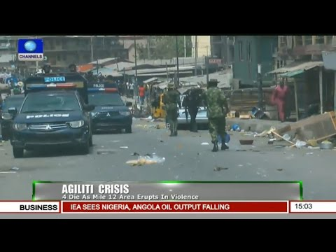 News Across Nigeria: 4 Feared Dead As Mile 12 Area Erupts In Violence Pt.1