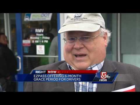 Drivers without E-ZPass transponder getting 6-month grace period