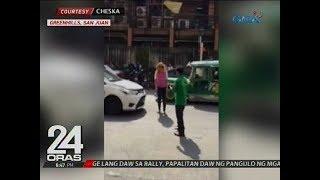 Motorista, nagwala at nanakit matapos i-clamp ang kotse niya dahil sa iligal na pagparada