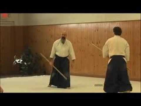 Aikido Jo Seminar March 08 part 1 - Tsuki Image 1