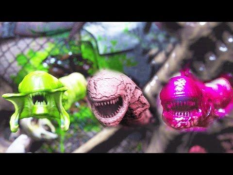 Mortal Kombat X Alien Chestburster Outro On All Characters ChestBurst