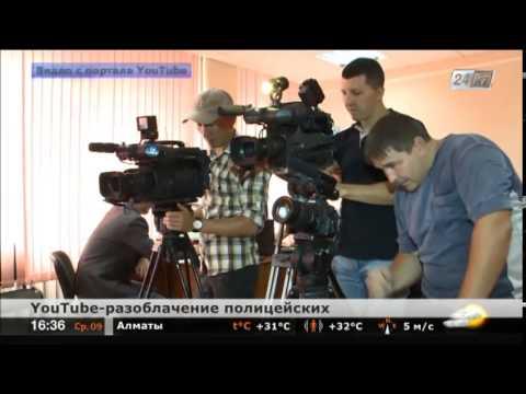 Костанайские гаишники пытались задушить россиянина