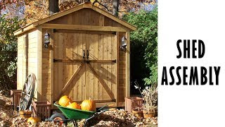 Storage Shed - SpaceMaker 8x12 - Outdoor Living Today