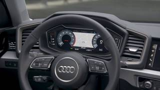 2018 Audi A1 Interior Design in Python yellow