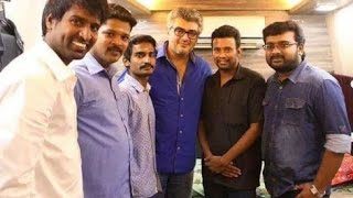 Soori meets Ajith alongwith his family on his Birthday | Thala 56