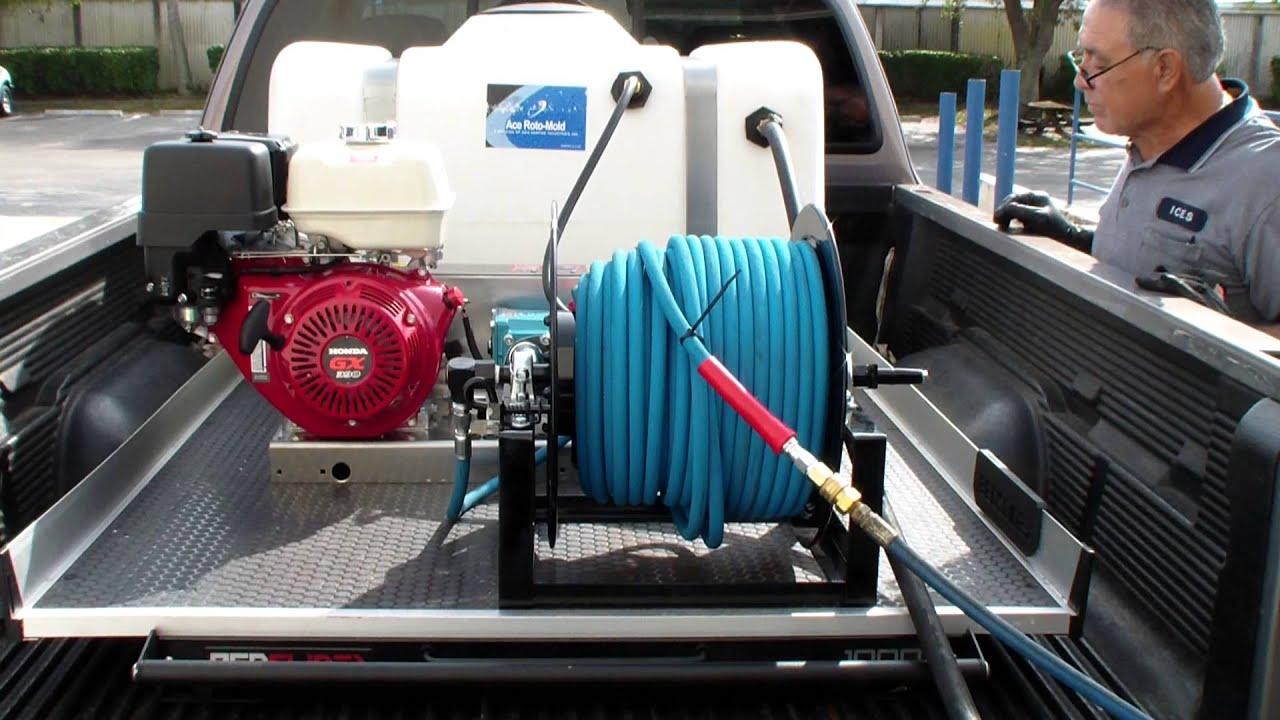 13 Hp Honda 4000 Psi 4 Gpm Belt Driven Cat Pump Pressure