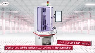 MarShaft SCOPE 600 plus 3D FI Nockenwelle DE