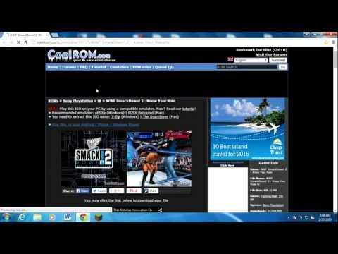How to download smackdown vs raw 2011 PC