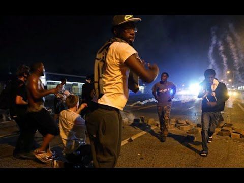 Ferguson violence 'planned and premeditated' say police