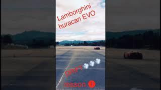Lamborghini huracan EVO DRIFT‼️ランボルギーニ ウラカン EVO‼️プロレーサーによるドリフト走行💨