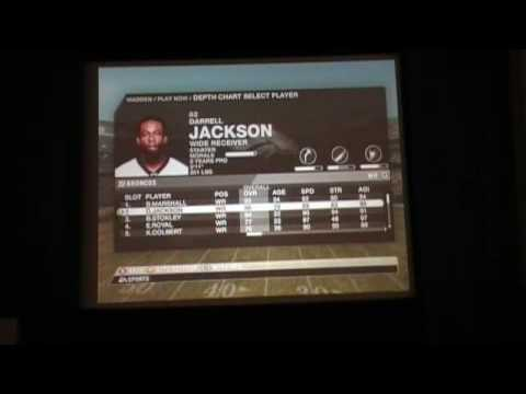 Madden 09 Tournement Championship Game Part 1