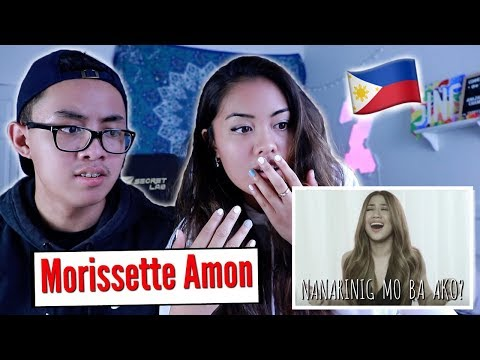 BRO & SIS REACT to Morissette Amon