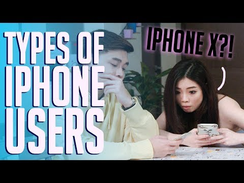 9 Types of Singaporean iPhone Users (IPHONE X!) | Singapore