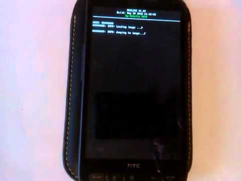 Windows Phone 7 Running on HTC HD2