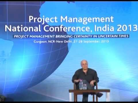 2013 | Project Management National Conference | Mahesh Bhatt...