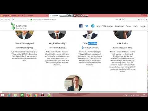 Обзор ICO проекта - coinseed.co