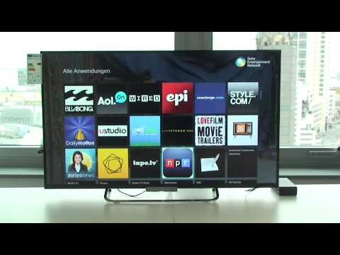 SONY KDL-42W655 LED Fernseher Hands-On (Deutsch / German)