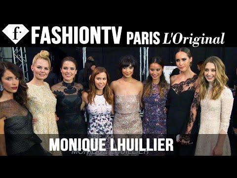 Monique Lhuillier Spring/Summer 2015 Front Row ft Jennifer Morrison, Sophia Bush   NYFW   FashionTV