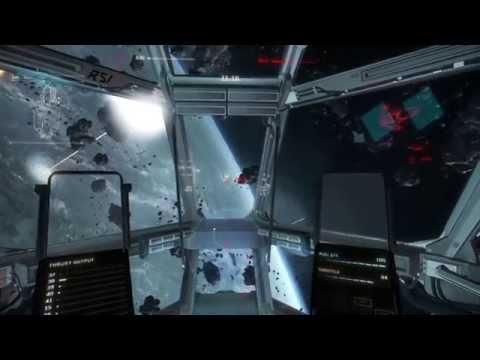 Star Citizen - Bringing An Aurora To A Hornet Fight