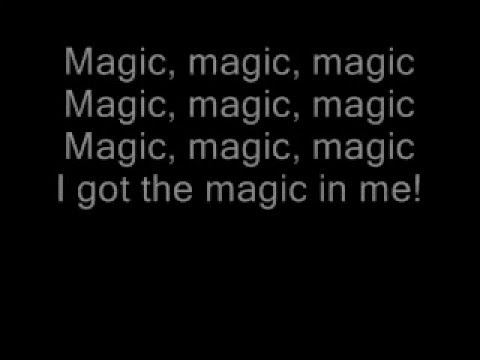 B.o.B - Magic ft. Rivers Cuomo (Lyrics On Screen)