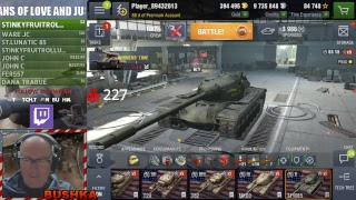 T110E5 LINE TECH TREE LIVE STREAM WORLD OF TANKS BLITZ