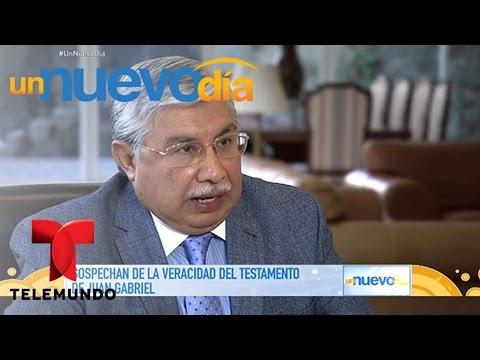 ¡Aseguran que el testamento de Juan Gabriel es falso! | Un Nuevo Día | Telemundo