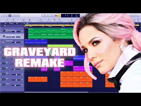 How To Make Halsey - Graveyard Instrumental Remake (Production Tutorial) By MUSICHELP