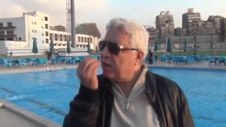 """شاهد.. مرتضى منصور يهاجم مدحت شلبى: """"الكلام ده عند الحجة"""""""