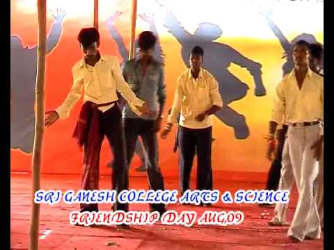 Sri Ganesh College Dance Program Rocky video