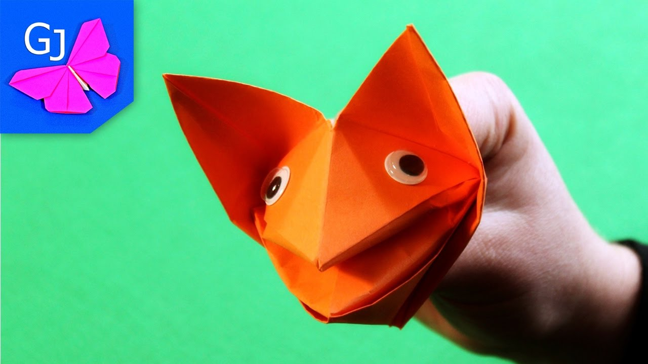Поделки из бумаги оригами детям 98