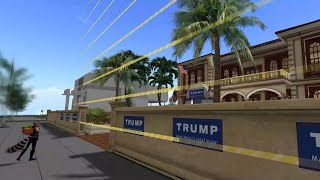 A Tour Of Donald Trump's Second Life Mansion