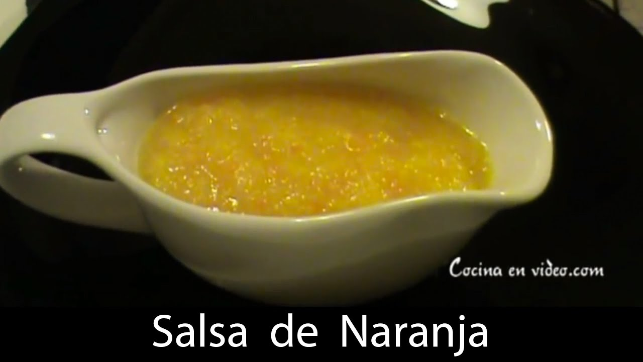 Salsa Naranja (Orange Salsa) Recipe — Dishmaps