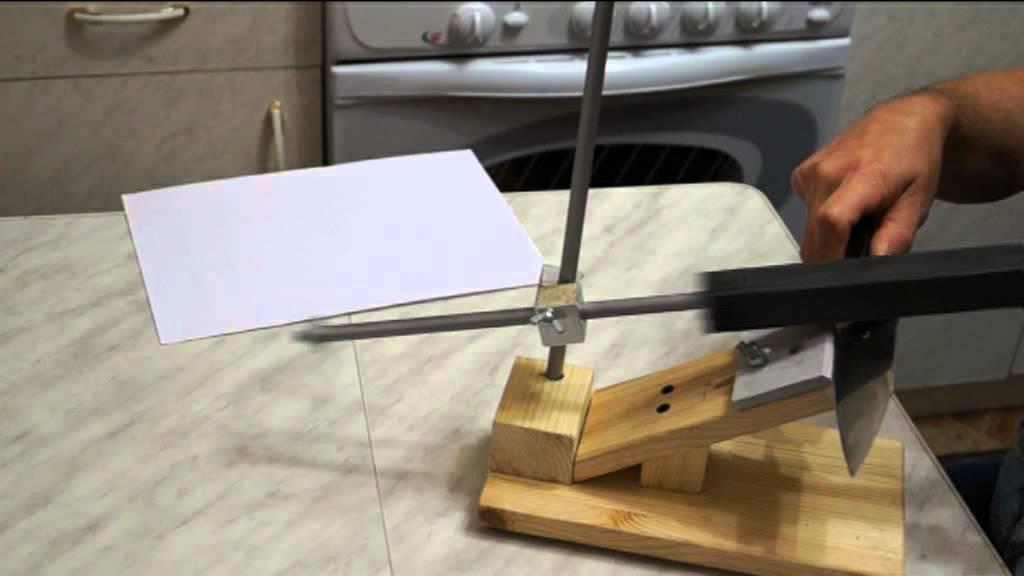 Как сделать точилку для ножа своими руками