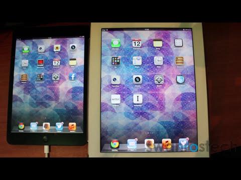 iPad mini vs. iPad 3: rendimiento