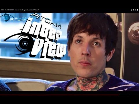 BRING ME THE HORIZON - Interview with Oli Sykes & Lee Malia // PitCam.TV