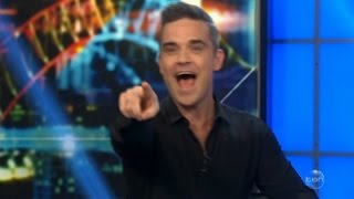 "Robbie Williams LIVE ""I Just PASHED Your Husband""! Australian Tv Interview in Full Nov. 22, 2016"