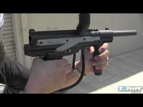 JT E-Kast Tactical Paintball Gun Test Shoot