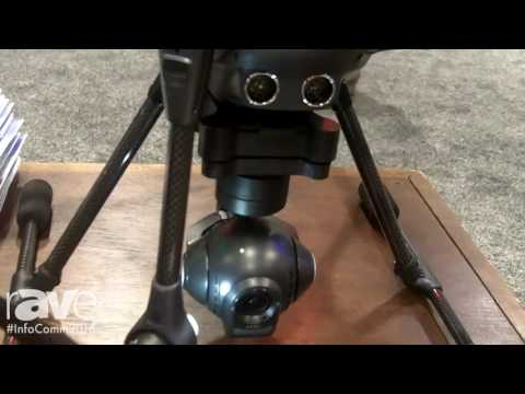 InfoComm 2016: Yuneec Shows the Typhoon H Drone at the Stampede Booth