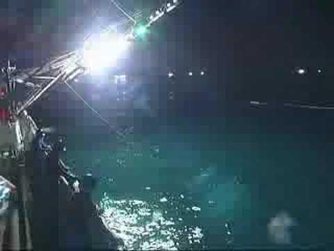 サンマ棒受網漁