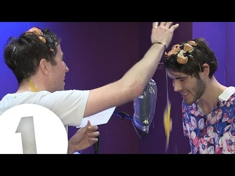 Alfie Deyes and Nick Grimshaw play Egg on Your Face!