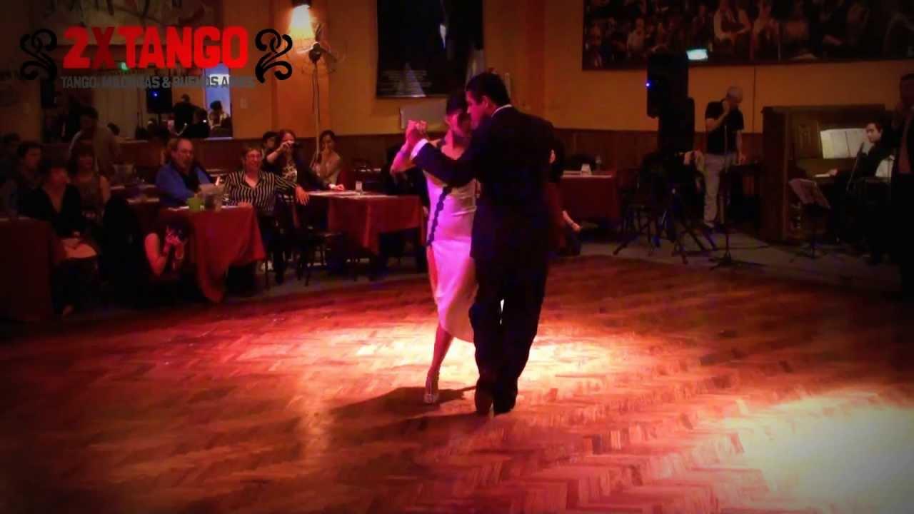 Roberto zuccarino magdalena valdez tango quiero verte for A puro tango salon canning