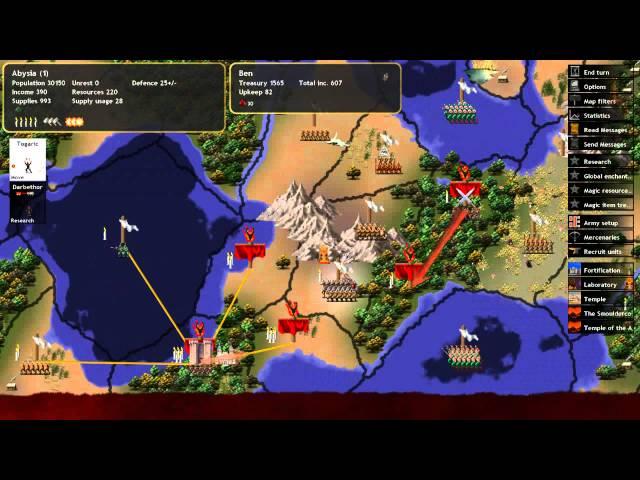 Руководство запуска: Dominions 4 Thrones of Ascension по сети