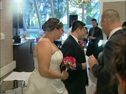 Reception Procession Due & Alicia Wedding @ The Old Mill Inn Toronto Videography Photography