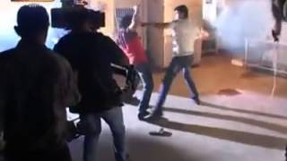 Thuppakki - Thuppakki exclusive makking fight scene