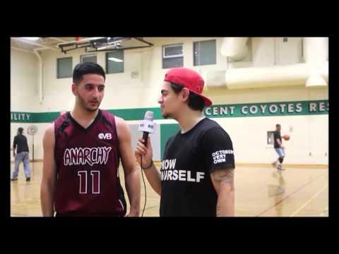 IDREES KARIMZADEH scores 21 and catches up with EJ - Megacity Basketball Toronto