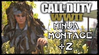 Call of Duty: WW2 - Ninja Montage #2 (Funny Moments, Ninja Defuse & Knife Feeds)!